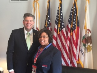 Z with Congressman Darin LaHood