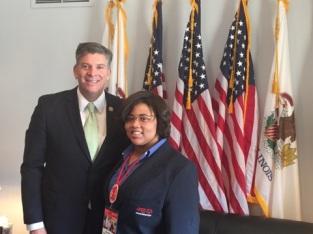 Z with Congressman Darin LaHood