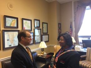 Meeting Senator Peter Roskam